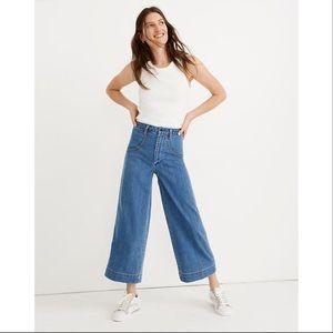 Madewell Emmett Wide-Leg Crop Jeans - Rainbow Ed.